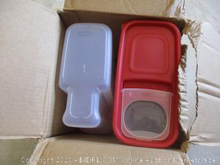 Rubbermaid Pantry Containers (Sealed Opened for Picturing)