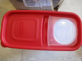 Rubbermaid Food Container (Sealed Opened for Picturing)