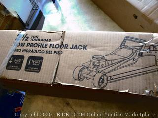 Low Profile Floor Jack