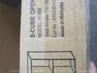 5-Cube Open Shelf