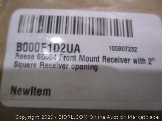 """Reesen Front Mount Receiver with 2"""" Square Receiver Opening"""