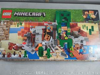 LEGO Minecraft The Creeper Mine 21155 Building Kit  (834 Pieces) new Unopened (Online $79)