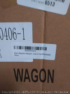 IOpa collapsible folding wagon push or pull IPA009406B