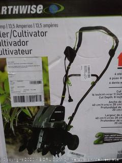 Earthwise tiller cultivator(powers on)