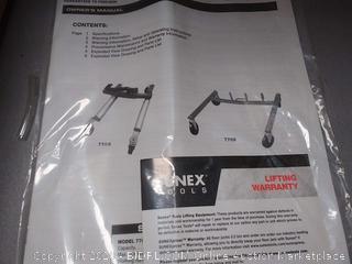 Sunex tools car dolly