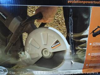 Evolution 12in electric disc cutter (powers on)