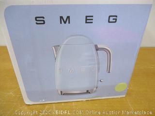 Smeg 50's Retro Style Aesthetic Electric Kettle with Embossed Logo
