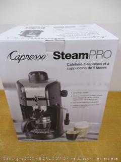 Capresso Steam Pro Espresso and Cappuccino Maker