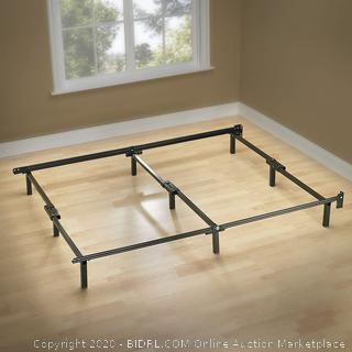 Zinus Michelle Compack 9-Leg Support Bed Frame, for Box Spring and Mattress Set, Cal King (online $51)