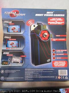 Spy Gear Inite Night Vision Camera
