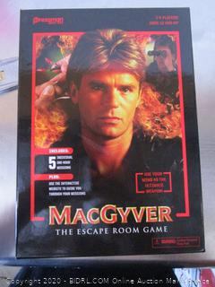 MacGyver Escape Room Game