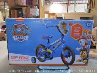 Paw Patrol Bike
