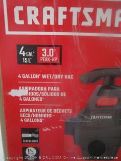 Craftsman Vacuum