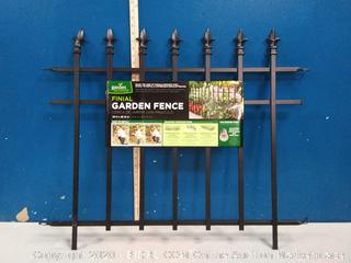 "Panacea Products 87103, 30"" X 36"" Metal Fence, Black (online $36)"