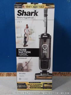 Shark Navigator Zero-M Self-Cleaning Brushroll Pet Pro (ZU62) Upright Vacuum, Pewter Grey Metallic (online $219)