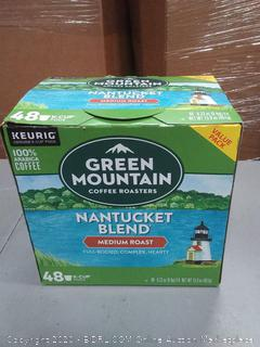 Green Mountain Coffee Roasters Nantucket blend medium roast 48 K-cups