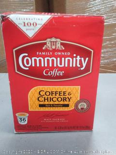 family-owned Community Coffee 36 cups
