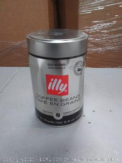 Illy coffee beans 8 x 8 oz can