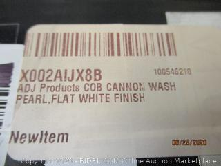 ADJ Cob Cannon Wash Pearl  , flat white Finish