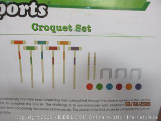 GoSports Croquet Set