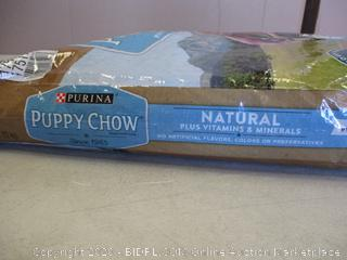 Purina Puppy Chow Natural   See Pictures