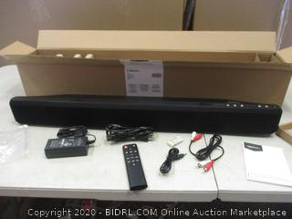 Bluetooth Sound Bar  with Built-In Subwoofer    Factory Sealed