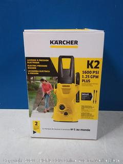 Karcher K2 Plus 1600 PSI (Electric - Cold Water) Pressure Washer (online $109)