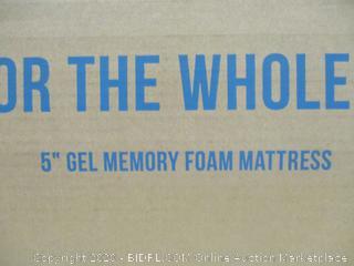 """Lucid 5"""" Gel Memory Foam Mattress"""