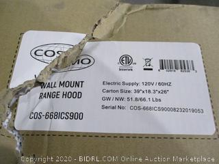 Wall Mount Range Hood See Pictures Sealed