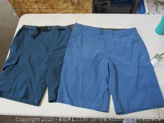 Gerry & Hang Ten Men's Shorts Size 34