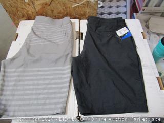 Hang Ten 2 Pairs Mens Shorts 36
