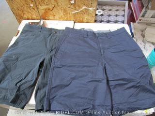 Hawke&Co, Kirkland Signature Mens Twill Shorts 32