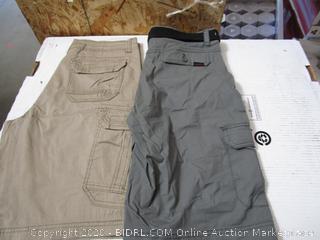 Wear First & Union Bay Mens Cargo Shorts 32