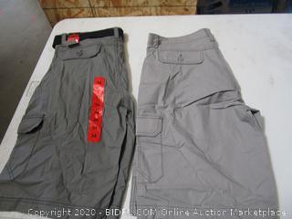 Wear First MEns Cargo Shorts 34