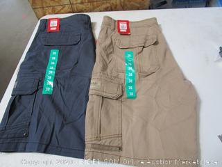 Unionbay Flexwaist Mens Cargo Shorts 38
