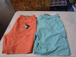 Kirkland Signature & Goodfellow Mens Swim Shorts XL