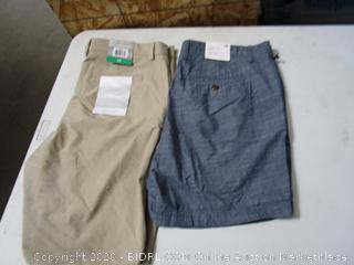 Goodfellow & Greg Norman Mens Shorts 38