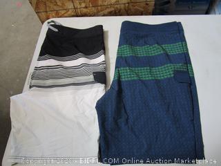 Hang Ten Mens Board Shorts 42