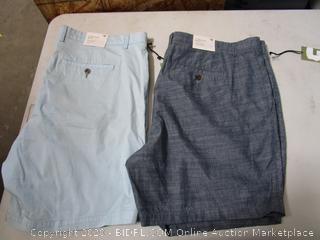 Goodfellow MEns Flat Front Shorts 42