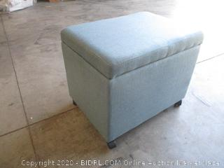 Noble House - Storage Ottoman (Missing 1 Wheel)
