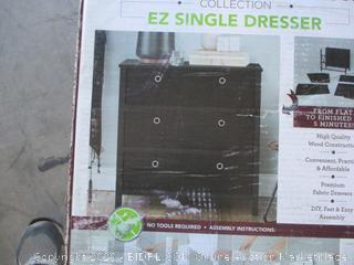 EZ Home Solutions - 3 Drawer Dresser (Retail $150)