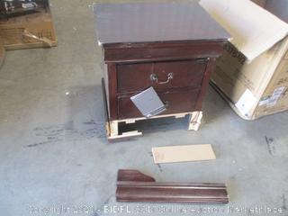 Signature Design by Ashley - Wood Nightstand (Damaged, See Pictures)