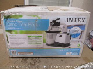 Intex Krystal Clear - Sand Filter Pump for Above Ground Pools (Retail $200)