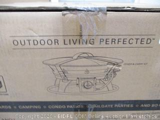 Outland Living - Outdoor Portable Propane Gas Fire Pit with Cover & Carry Kit (Retail $140)