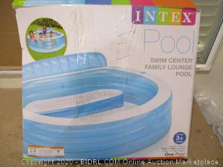 Intex - Inflatable Family Swim Center (Retail $140)