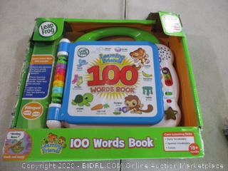 Leap Frog - 100 Words Book