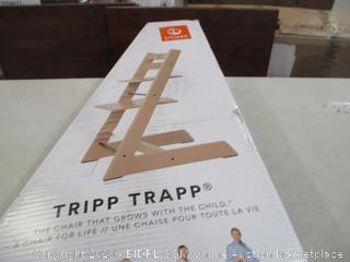 Stokke - Tripp Trapp, Adjustable Wooden Baby High Chair (Retail $200)