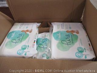 Pampers - Pure Protection, Size 2 (Sealed Bags)