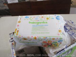 Babyganics - Baby Wipes (Sealed Bags)