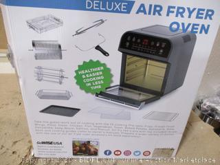 GoWiseUSA - Electric Rotisserie Deluxe Air Fryer Oven, 12.7 Qt ($127 Retail)